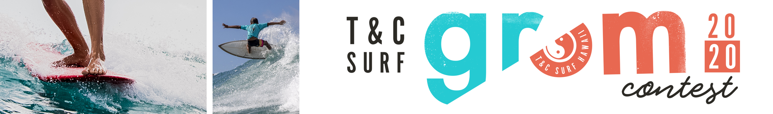 T&C Grom contest logo title text